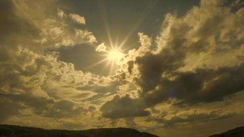 Sun clouds sky evening sky Live Action