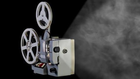 Retro Cinema Projector stock footage