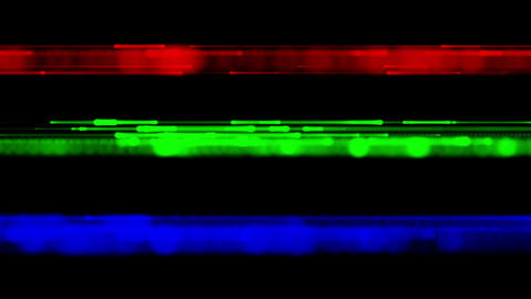 RGB blurry lines loopable background Stock Video Footage