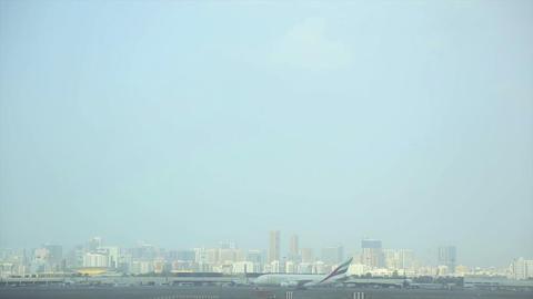 Dubai Airport Stock Video Footage