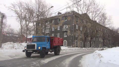 Sreets of Novosibirsk Footage