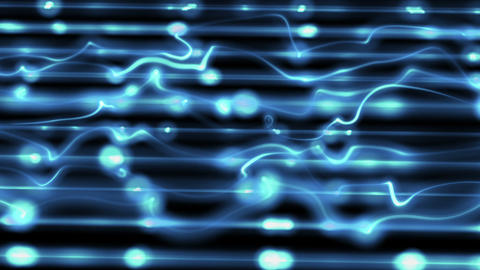 Blue Technological Loopable Background stock footage