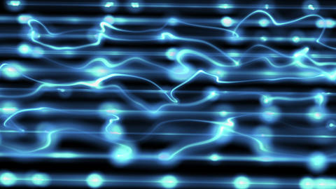blue technological loopable background Stock Video Footage