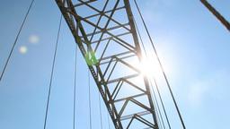 West End Bridge stock footage
