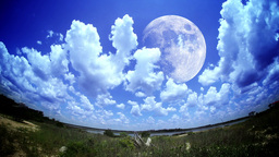 Moon Time Lapse Stock Video Footage