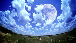 Moon Time Lapse Footage