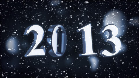 New year 2013 Animation
