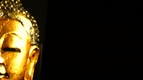 Buddha Sculpture Stock Video Footage