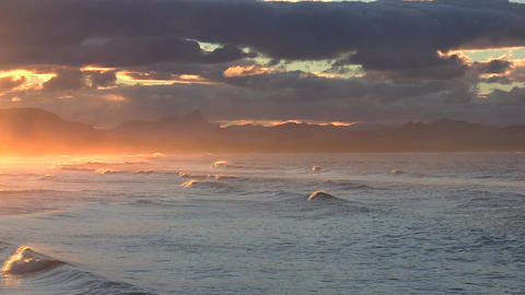 Sunset Byron Bay 1 Stock Video Footage