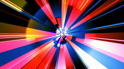 colorful mix rays Stock Video Footage