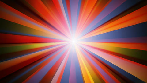 abstract sun ray Animation