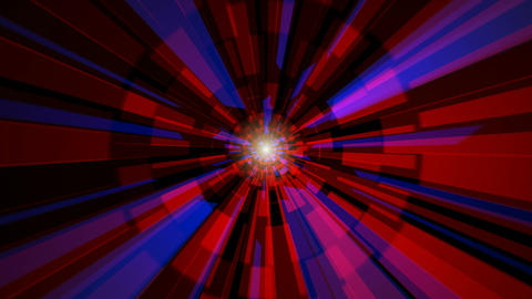 digital time tunnel Animation