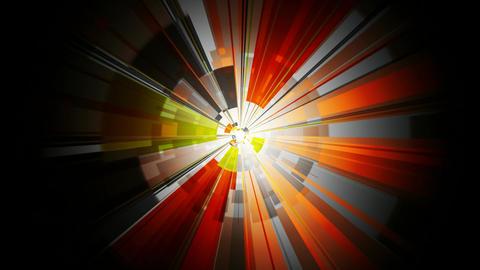 orange core hypnotize Stock Video Footage