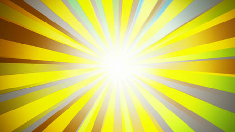 vector sun rays Stock Video Footage
