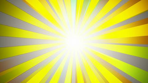 vector sun rays Animation