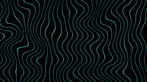 swirl blue line with alpha Stock Video Footage