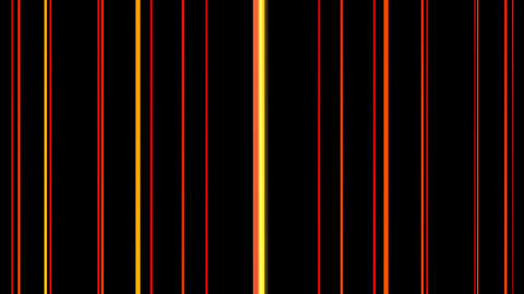 barcode fire lines with alpha Animation