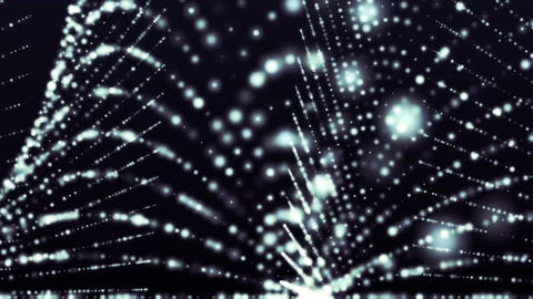 particles_1 Stock Video Footage