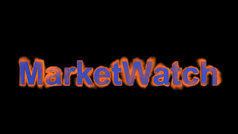 flame market watch word Stock Video Footage