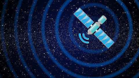 Satellite Animation
