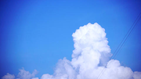 Clouds Exploding Stock Video Footage