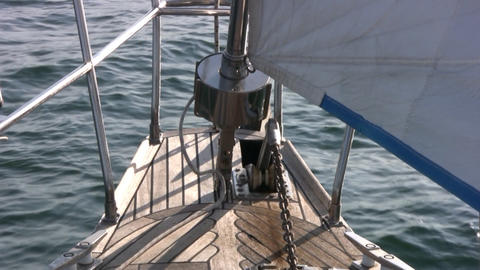 Staysail, sea Footage