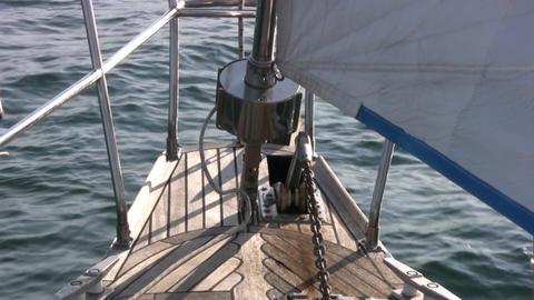 Staysail, sea Footage