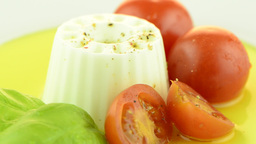 FSC 3830Fresh salad Stock Video Footage