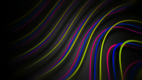 twisted color cable Stock Video Footage