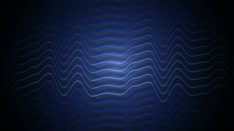 blue stripes distortion Animation