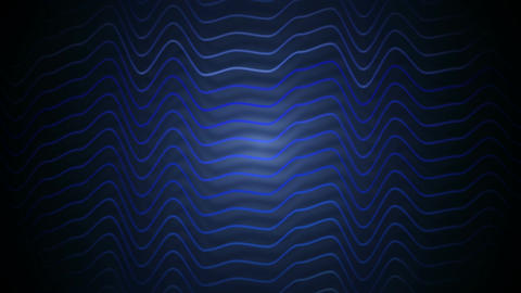 blue stripes distortion Stock Video Footage