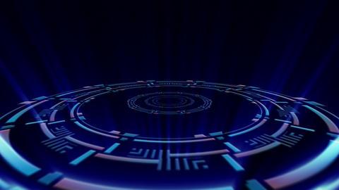 Hud Circle Rays V01