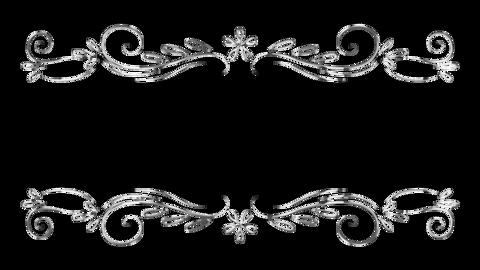 Silver ornament03 Animation