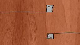 Horizontally Wood Cutting Animation