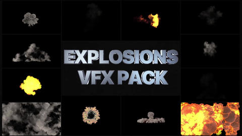 Explosions Pack After Effects Template