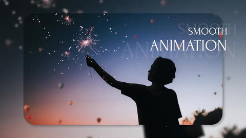 Slideshow - Elegant Reveal // Final Cut Pro Apple Motion Template