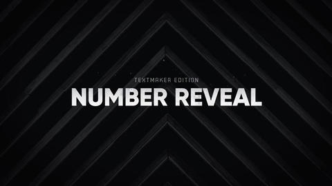 Titles Animator - Number Reveal // Final Cut Pro Apple Motion Template