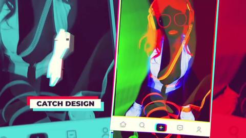 Slideshows Colorful Social Media Promotion Slides (FCPX) 0
