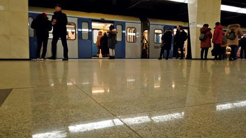Metro hyper timelapse Live Action