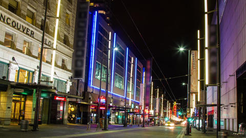 Granville Street is one of the Busy Street in Down Footage