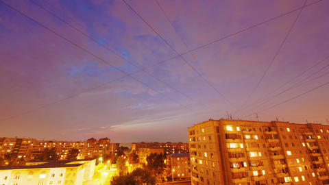Day to Night, Time Lapse Stock Video Footage
