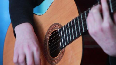 Gitarre spielen 1 Stock Video Footage