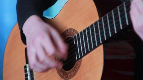 Gitarre spielen 1 Footage