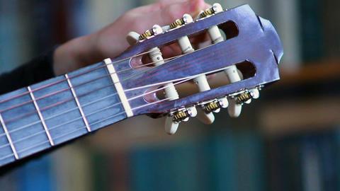 Gitarre spielen 3 Footage