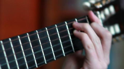 Gitarre spielen 5 Footage