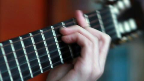 Gitarre spielen 5 Stock Video Footage