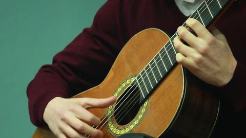 Gitarre spielen 7 Stock Video Footage