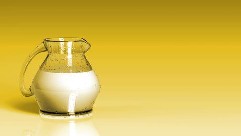 Fresh Milk Background Animation