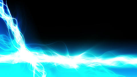 Magic Light Streaks Background Animation