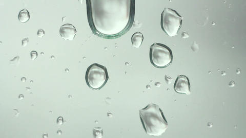Drops on Glass 4 Stock Video Footage